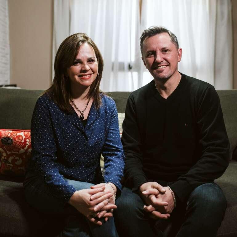 Boris y Cecilia Masalyka